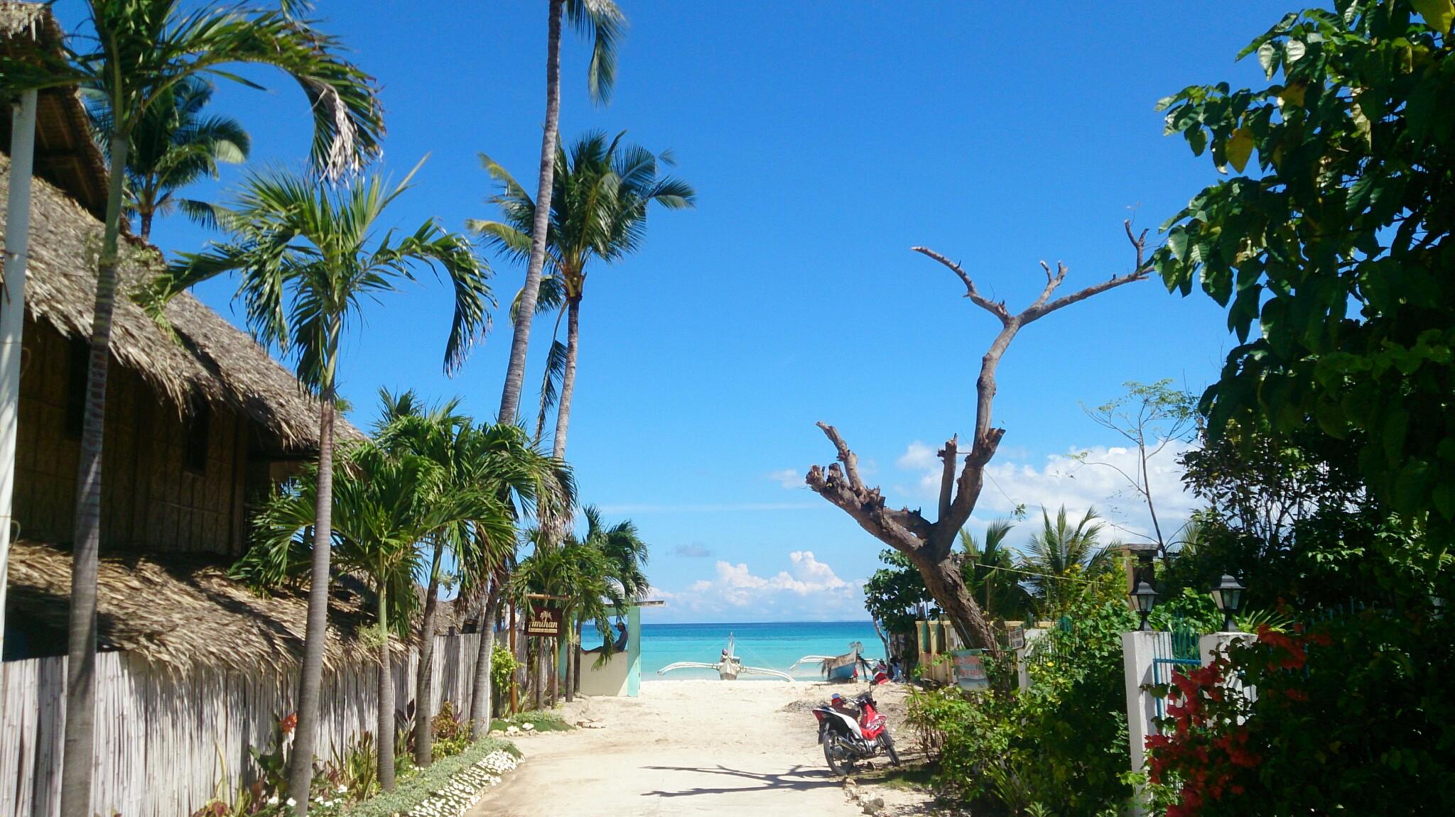 Situacija u Santa Fe - otok Bantayan, Filipini