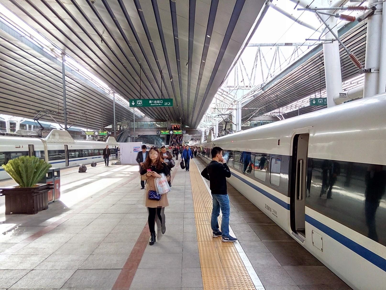 Kojom brzinom voze kineski vlakovi?