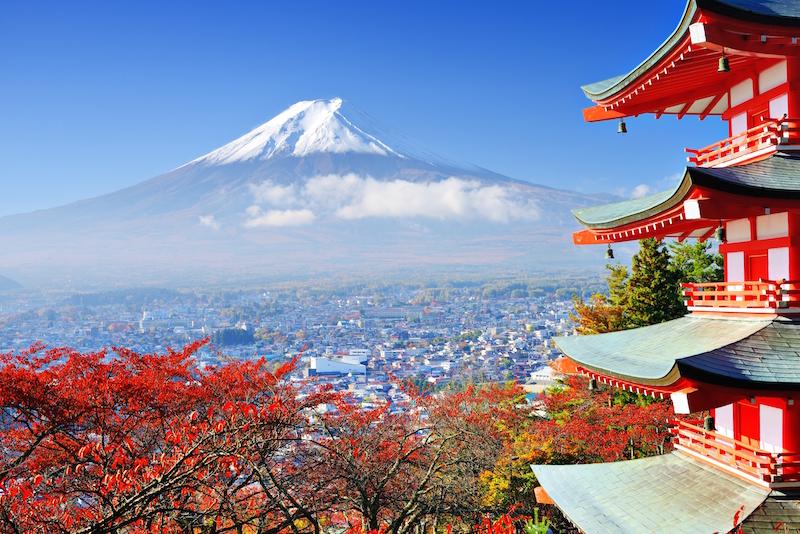 Povratna za Japan – samo 408 eura!