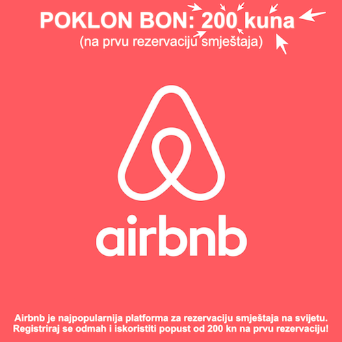 Airbnb popust!