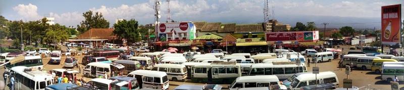 Autobusna stanica - Moshi