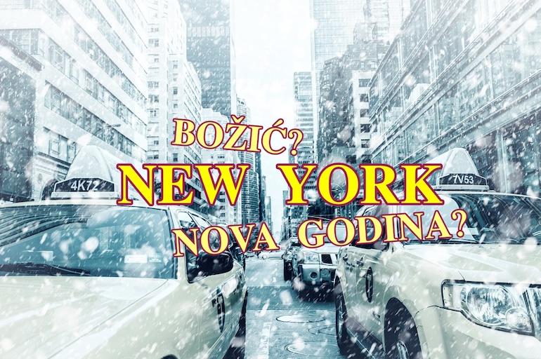 NEW YORK: Od 221 euro povratne karte! 28 termina (i za Božić te NG)!